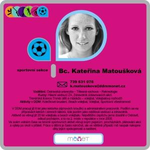 Kateřina Matoušková, Bc.