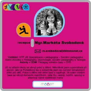 Markéta Svobodová, Mgr.