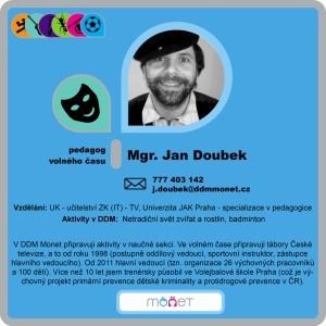 Jan Doubek, Mgr