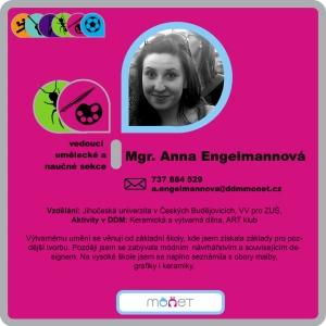Anna Engelmannová, Mgr.